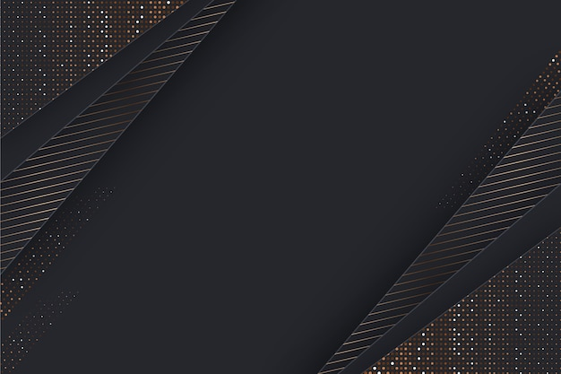 Paper layers background with golden details