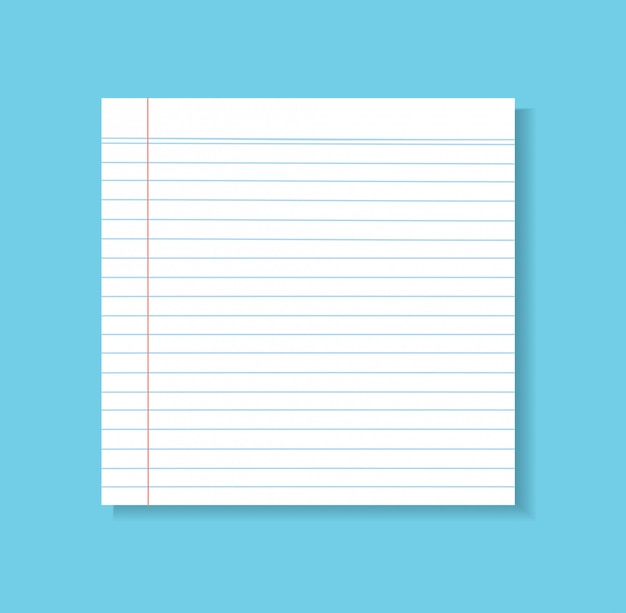 Paper line vector background