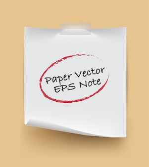 Paper note isolated with sake text on background