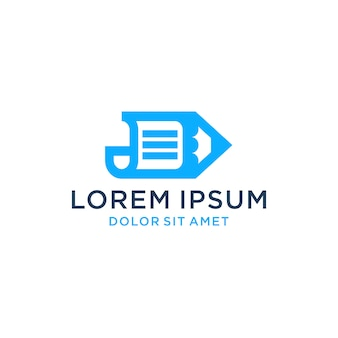 Paper pen logo icon download