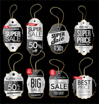 Paper price tag