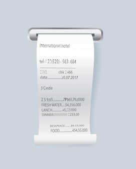 Paper print check element