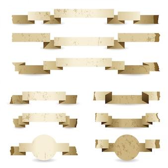 Paper ribbon set