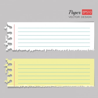 Набор листов бумаги
