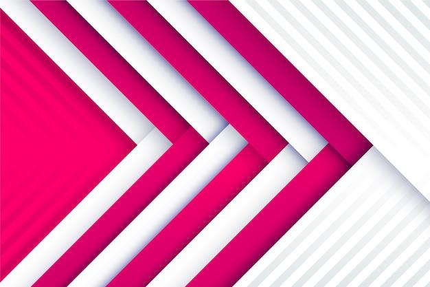 Sfondo di linee dinamiche in stile carta