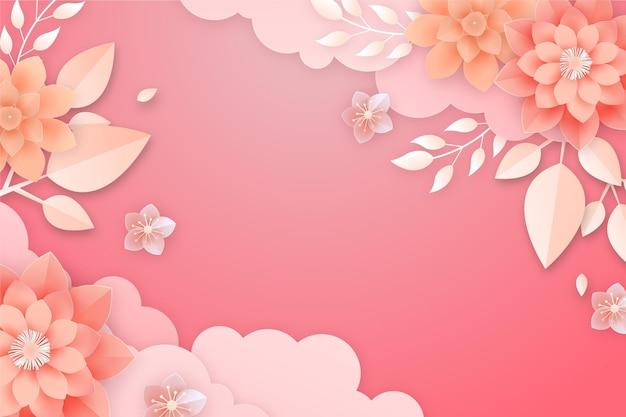 紙風の花の背景