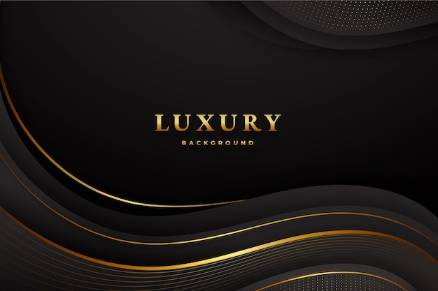 Paper style luxury background