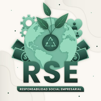 Paper style rse concept illustrated