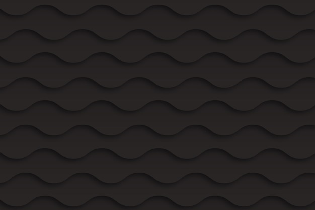 Paper style wavy background
