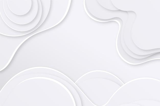 紙のスタイルの白いモノクロの背景