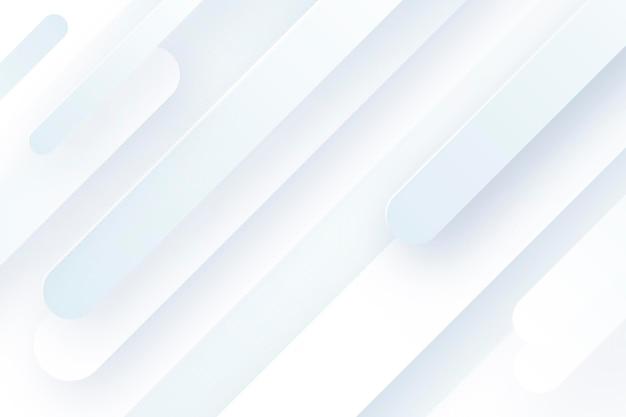 Бумажный стиль белый монохромный фон
