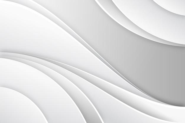종이 스타일 흰색 단색 배경 무료 벡터