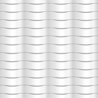 Paper white seamless wavy pattern