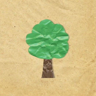 Paper wood symbol
