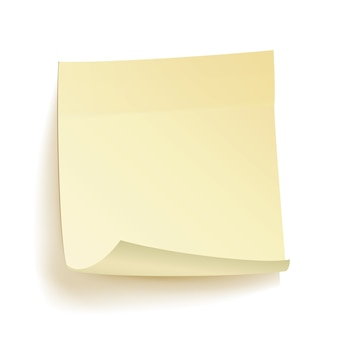 Paper work notes isolated vector