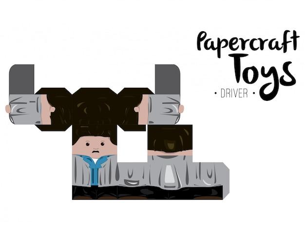 Papercraft driver