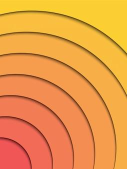 Абстрактный вертикальный фон слоев papercut