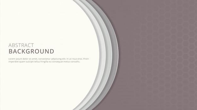 抽象的な幾何学的な明るいpapercut背景デザイン