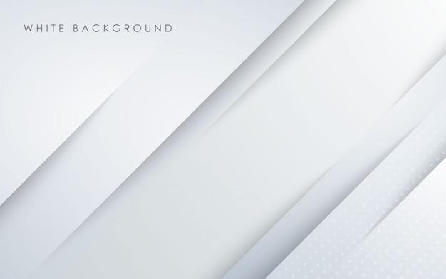抽象的な光の白いpapercut背景