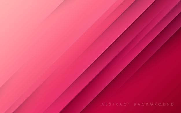 抽象的なピンクの背景斜めpapercut
