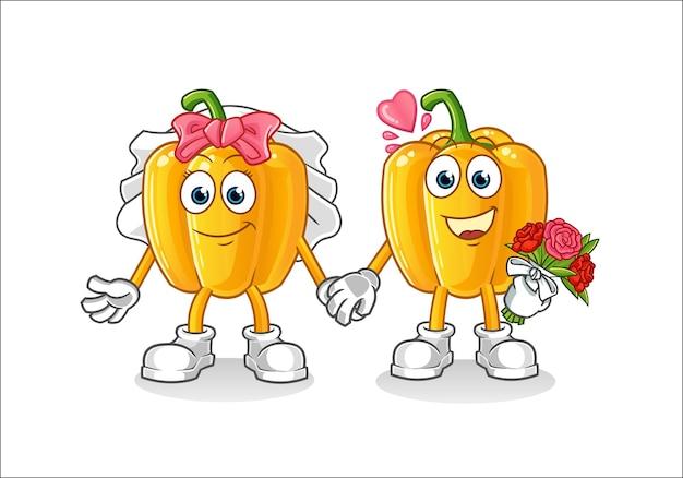 파프리카 결혼식 만화 캐릭터