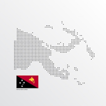 Papua new guinea map design