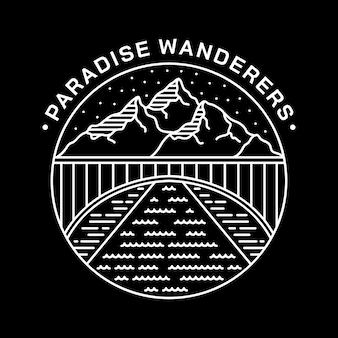 Paradise wanderers