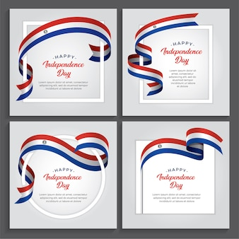 Paraguay independence day   illustration