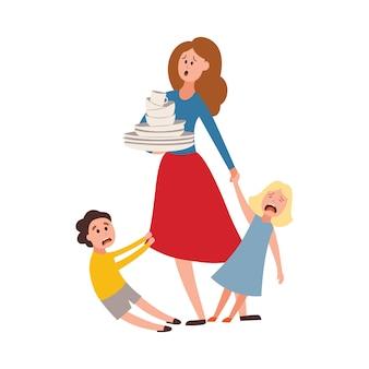 Проблема воспитания большая семья усталые родители