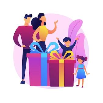 一緒に遊んでいる親と小さな子供たち。幸せな親子関係、異人種間のカップル、家族の絆。陽気な母と子供を持つ父。