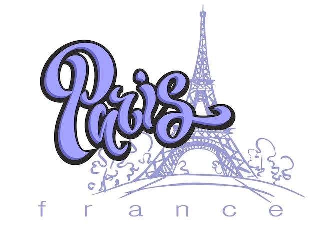 Paris.lettering.