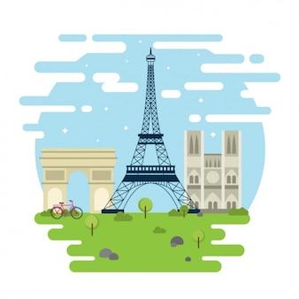 파리 기념물
