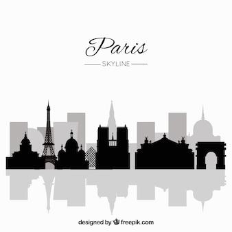 パリのスカイラインコンセプト