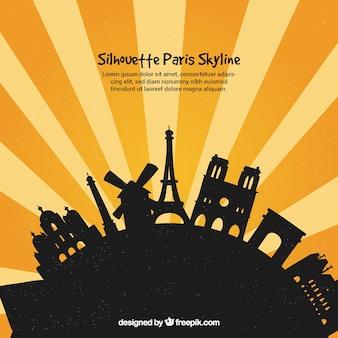 Парижский горизонт на земном шаре