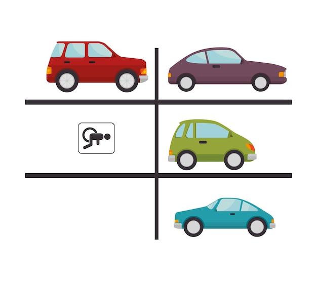 Parking lot design