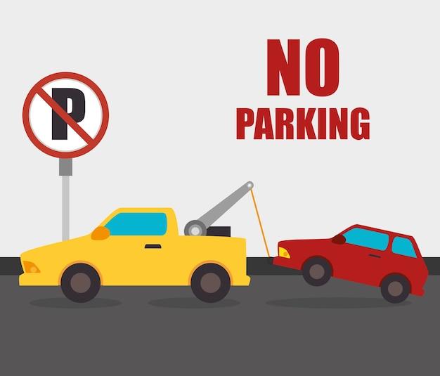 Parking or park zone design