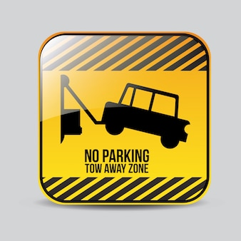Parking sign design