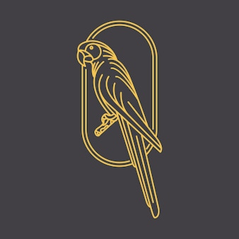 オウムの鳥