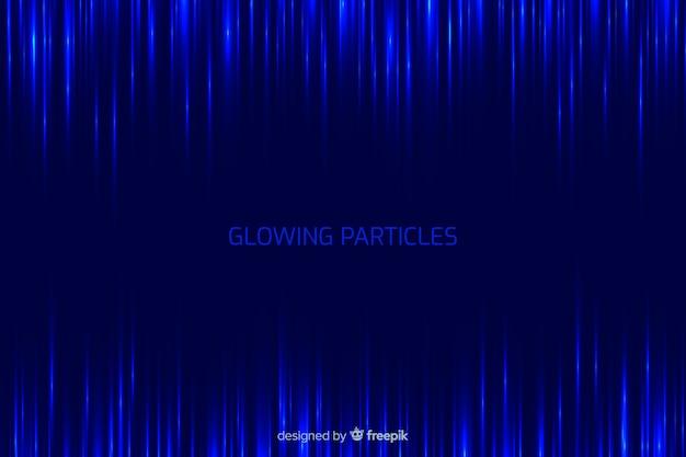 Particles gradient background