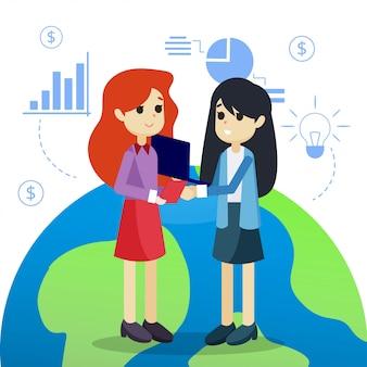 Partner deal illustration