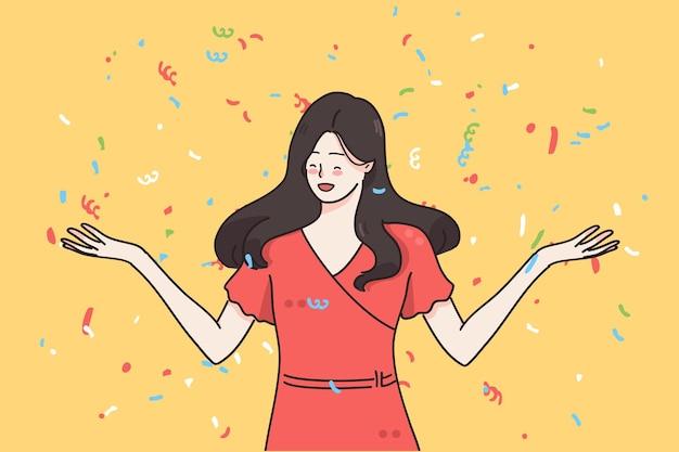 Концепция вечеринки и празднования события