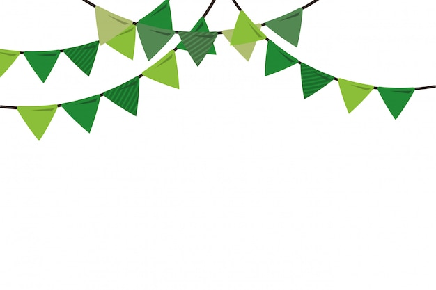 Party background flags