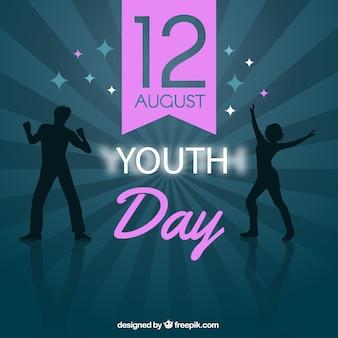 Parte di fondo della giornata della gioventù