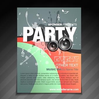 Party brochure