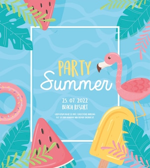 Party summer card