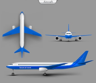 Airplane Vector Vectors Photos And PSD Files