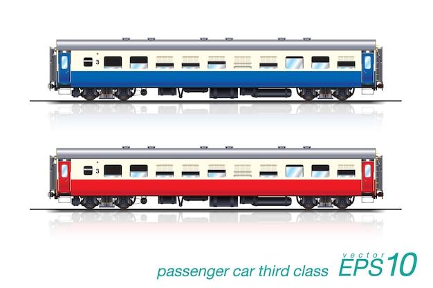 Passenger car third class
