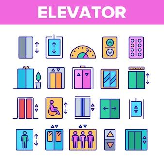 Passenger elevator, lift