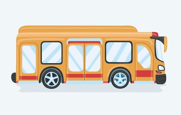 대 중 교통 버스 승객, 흰색, 개념적 전송 인테리어에 고립 된 버스에있는 사람들.