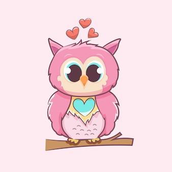 Passionate owl